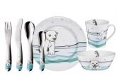 Набор детской посуды Auerhahn ICE BEAR (7 шт.)
