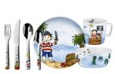 Набор детской посуды Auerhahn PIRAT PADDY (7 шт.)
