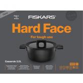 Кастрюля Fiskars Hard Face Casserole 3.5L 22cm (1020875)
